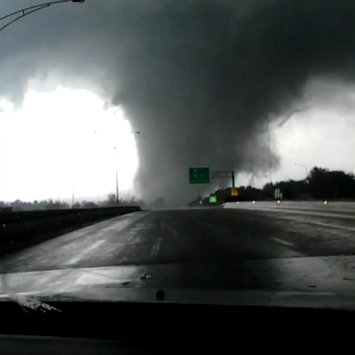F5 Tornado that Struck Tuscaloosa, Alabama