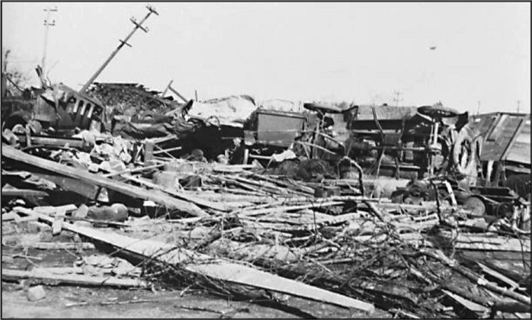 tri state tornado Tri-state tornado this photograph shows the ruins of the longfellow school in murphysboro, ill where 17 children were killed by the march 18, 1925 tri-state tornado - the deadliest tornado in us.